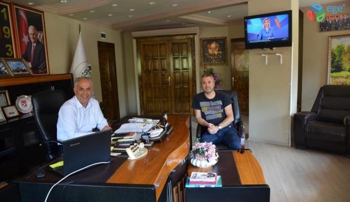 Bilecikspor Başkanı Avcı'dan Başkan Yaman'a ziyaret