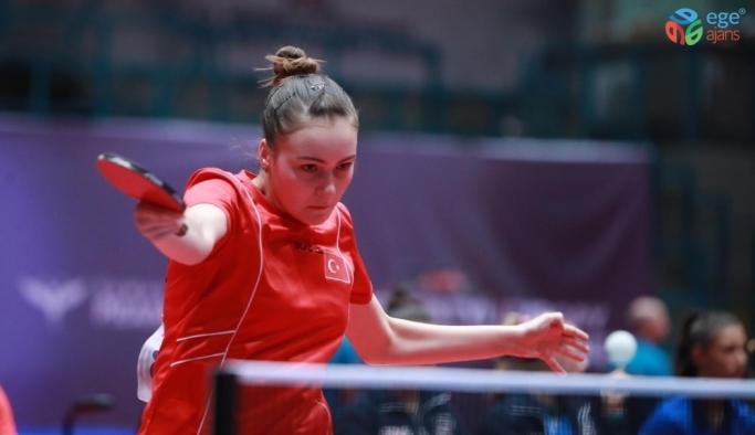 Bursa Büyükşehir Belediyespor Kulübü sporcusu  Ece'den 2 altın madalya