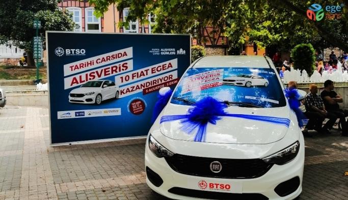Bursa Kapalı Çarşıda 'Payitaht' Coşkusu Başladı