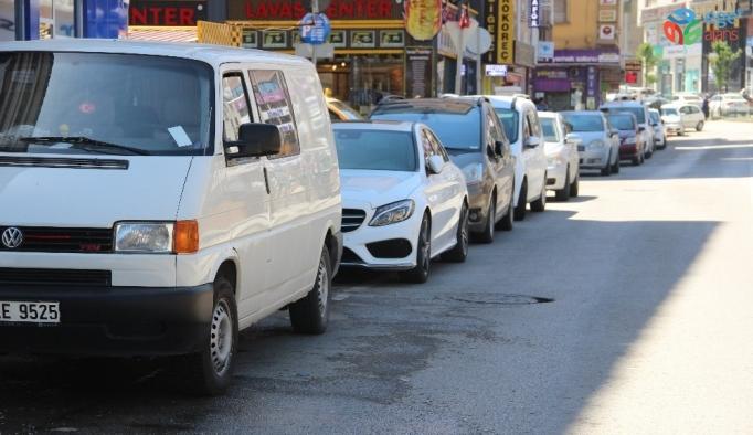 Erzurum'da taşıt sayısı arttı