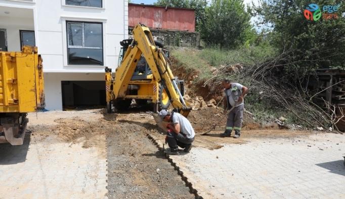 Fen İşleri Ekipleri 6 mahallede saha çalışmalarını sürdürüyor