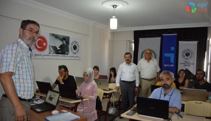 Gazetecilere İŞKUR destekli grafik tasarım kursu