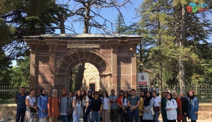 Genç Atölye tarih öğrencilerinden Bilecik'e gezi
