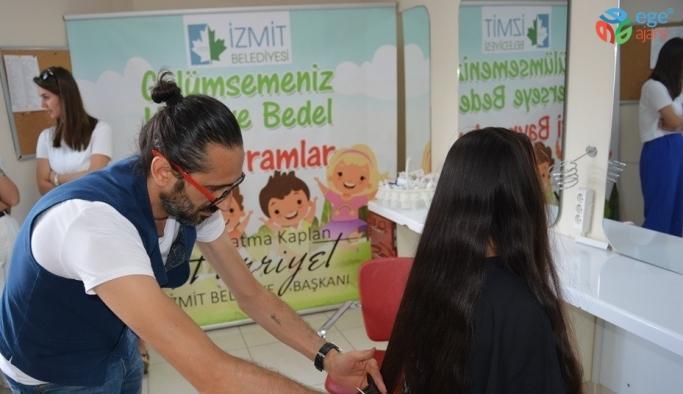 İzmit'te çocuklar bayrama hazırlanıyor