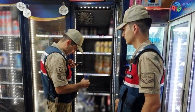 Jandarma ekiplerinden alkol denetimi