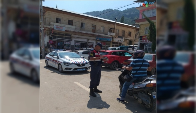 Jandarma trafik timleri, bir hafta da 8 bin 728 araç kontrol etti