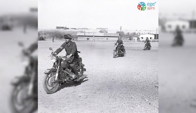 Jandarmadan nostaljik motorize birlikleri paylaşımı