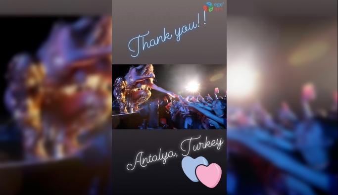 Jennifer Lopez''den Antalya paylaşımı
