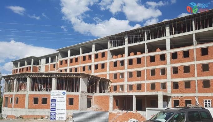 Kağızman'da 500 kişilik KYK Yurdu'nun yapımı devam ediyor