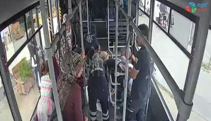 Kalp krizi geçiren yolcuyu hastaneye yetiştirdi