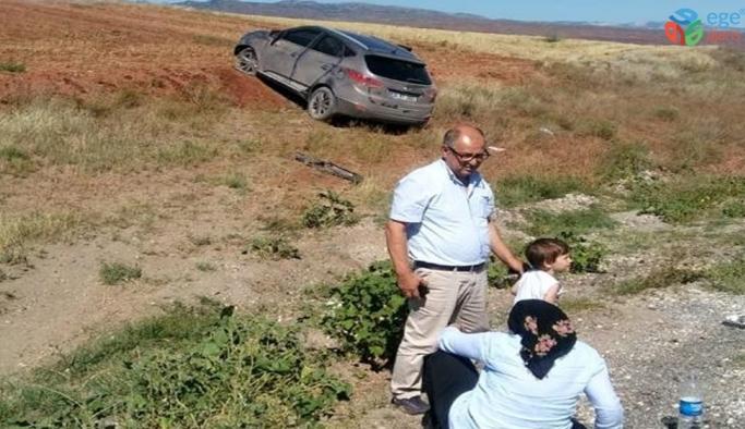 Kırıkkale'de trafik kazası: 3'ü çocuk 6 yaralı