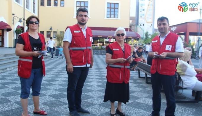 Kızılay, kurban kampanyasını vatandaşlara anlattı