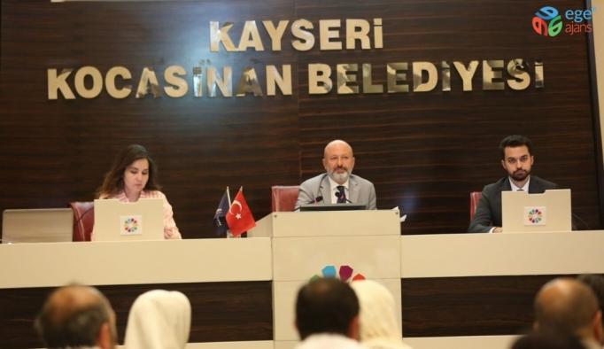 Kocasinan Belediye Meclisi Ağustos Ayı Toplantısını Gerçekleştirdi