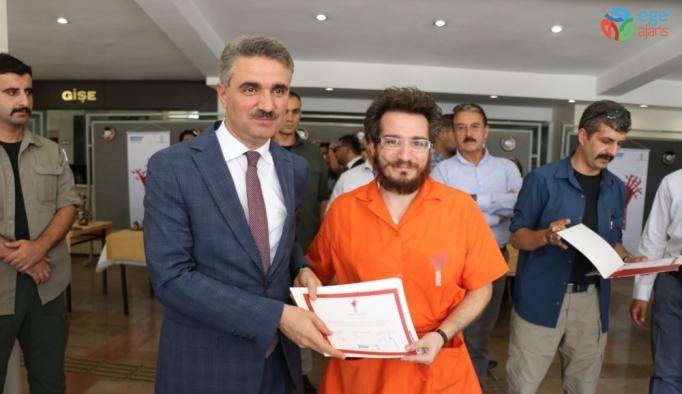 Malatya'da bakır işlemeciliği kursu tamamlandı