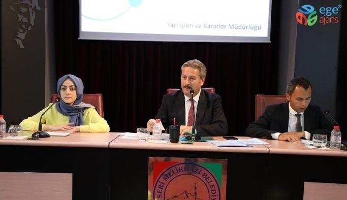 Melikgazi Ağustos ayı Meclis Toplantısı gerçekleştirildi