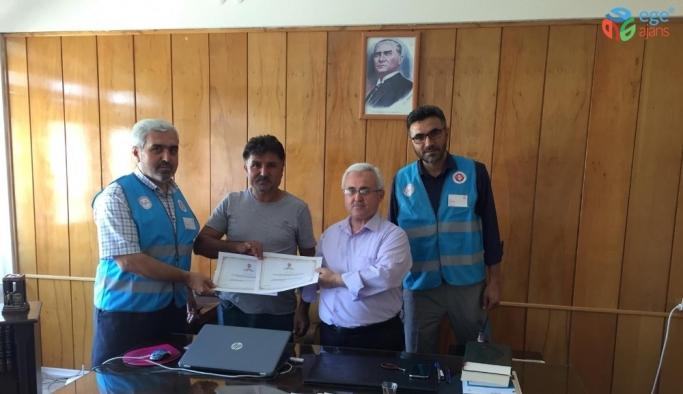 Milli futbolcudan TDV'ye kurban bağışı