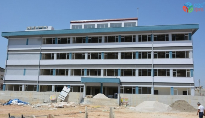 Okulların inşaatı hızla yükseliyor