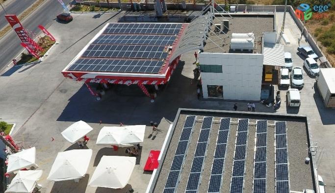 Petrol Ofisi'nden güneş enerjili benzin istasyonu