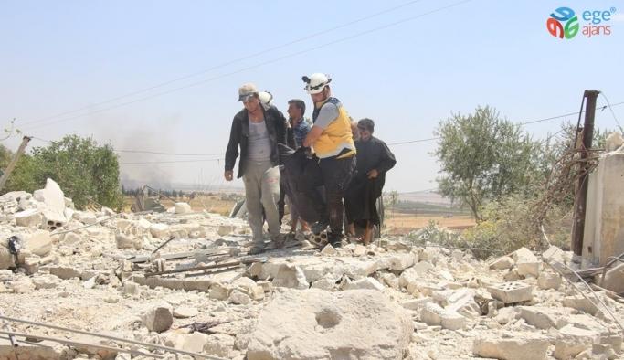 Rusya'dan İdlib'e hava saldırısı : 4 ölü