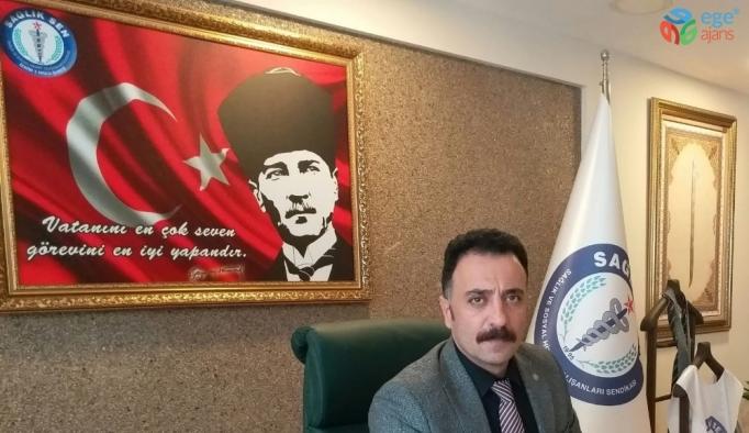 """Sağlık-Sen İzmir 1 No'lu Şube'den """"toplu sözleşme"""" açıklaması"""
