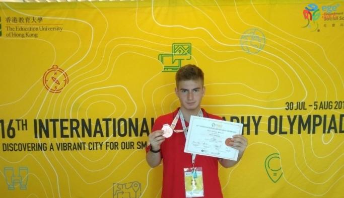 TED Ankara Koleji coğrafya dalında ilk kez Türkiye'ye olimpiyat gururunu yaşattı