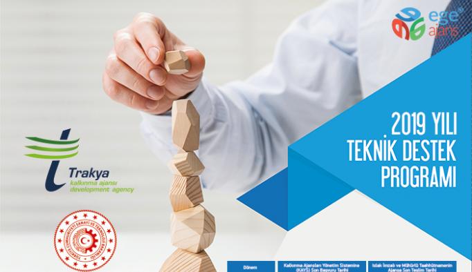 TRAKYAKA 2019 Teknik Destek programını ilan etti