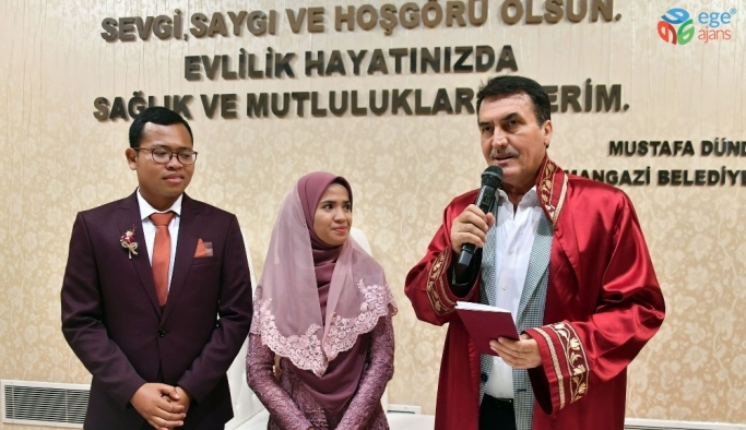 Tsunami'den kurtuldular, Bursa'da evlendiler