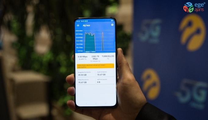 Turkcell'in 5G'si cep telefonu ile buluştu