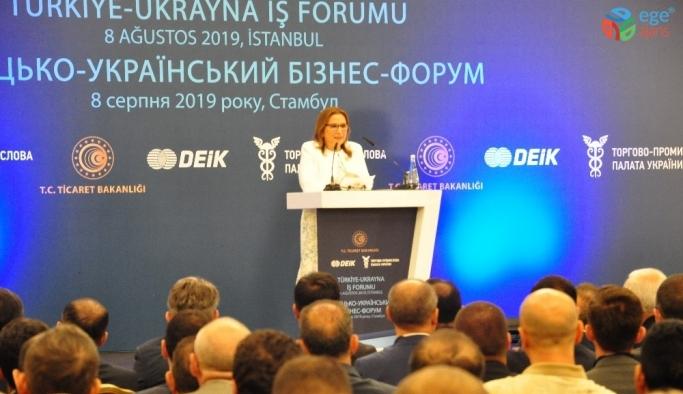 Türkiye ile Ukrayna ticaretinde hedef 10 milyar dolar
