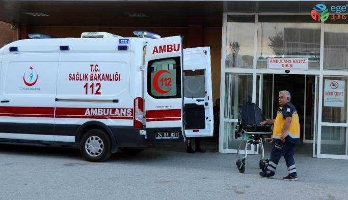 Üzerine sıcak su dökülen çocuk hastanelik oldu