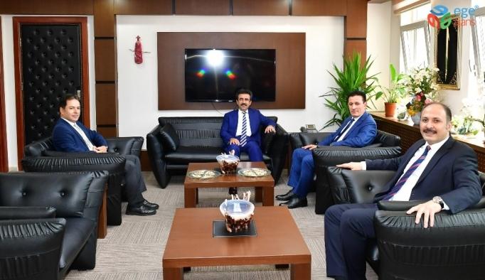 Vali Güzeloğlu'ndan Diyarbakır Cumhuriyet Başsavcısı Yavuz'a ziyaret