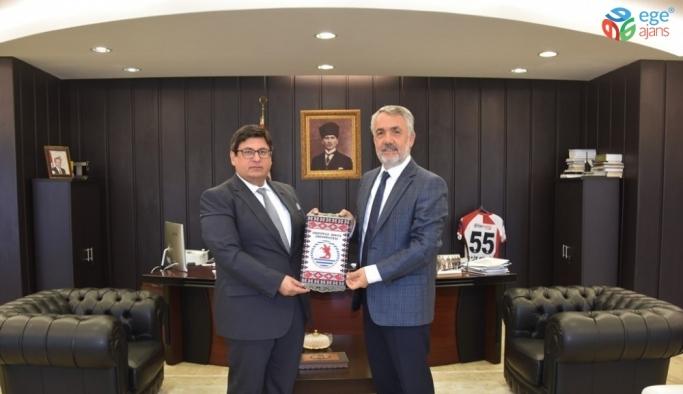 Yeni Cumhuriyet Başsavcısı Kılıç, Rektör Bilgiç'le bir araya geldi