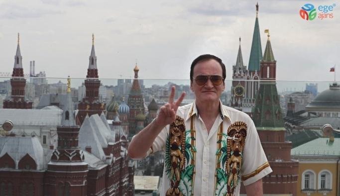 Yönetmen Tarantino, 'Bir Zamanlar Hollywood'un gösterimi için Moskova'da