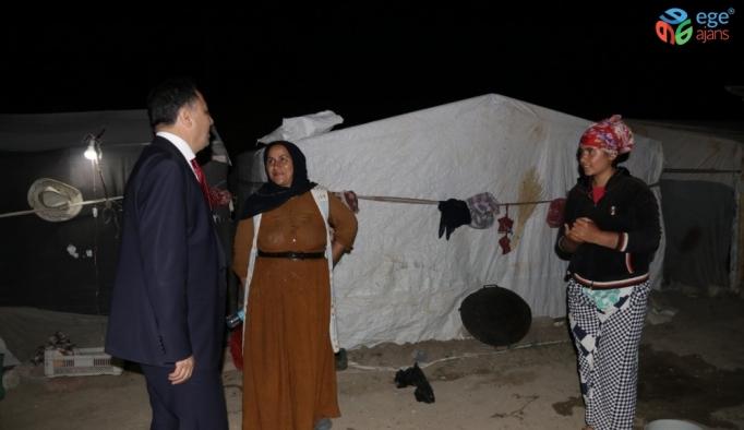 Yozgat Valisi Çakır'dan tarım işçilerine ziyaret