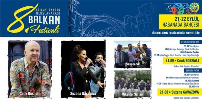 Balkan Festivali, bu yıl Buca'nın ablası Işılay Saygın adına