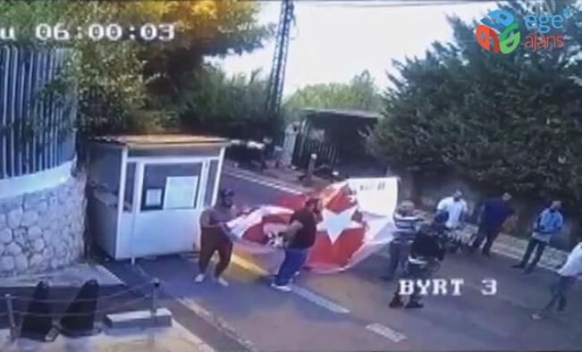 Türkiye'nin Beyrut Büyükelçiliği'ne provokatif eylem