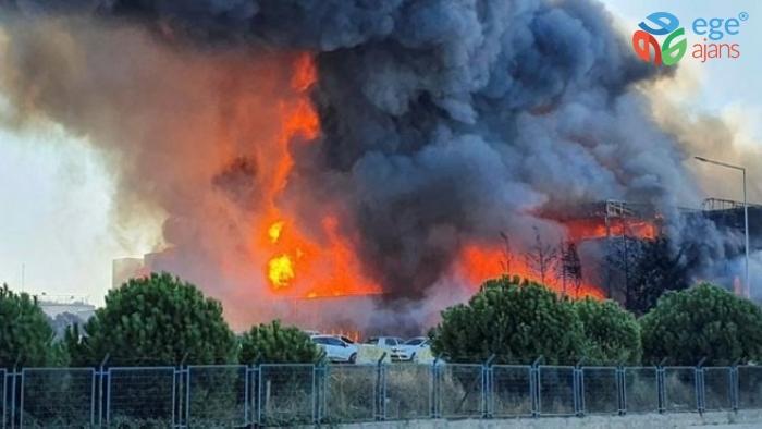Tuzla'daki fabrika yangınında patlama