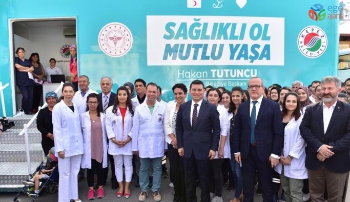 Antalya'da Kanser Tarama Tırı hizmete girdi