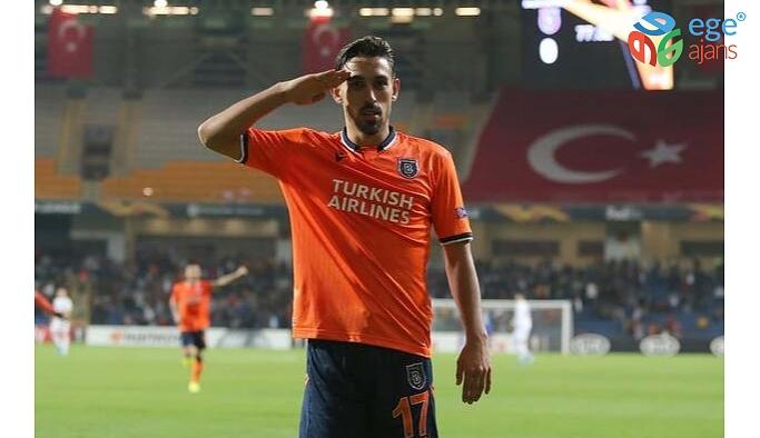 """Medipol Başakşehir: """"UEFA, futbolcumuz İrfan Can Kahveci'nin, Wolfsberger maçında attığı gol sonrası sevincindeki asker selamına soruşturma başlattı."""""""