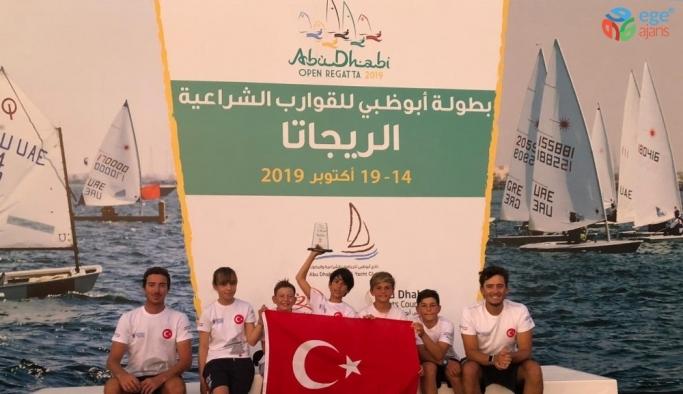 Optimist Junior Milli Takımı'ndan Abu Dabi'de üçüncülük