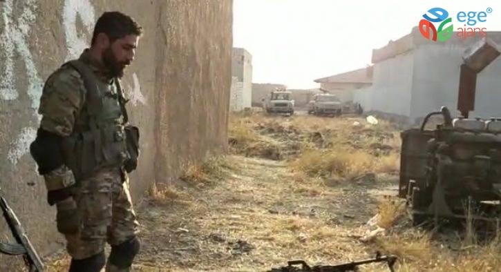 Resulayn'da SMO ile çatışan teröristler silah ve mühimmatlarını bırakarak kaçıyor