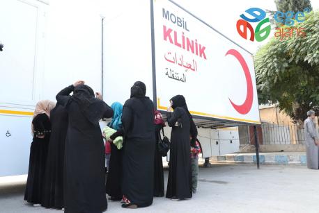 """Türk Kızılayı'ndan """"Mobil Klinik"""""""