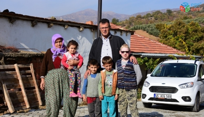 Alaşehir Belediyesinden şehit ailesine özel hizmet