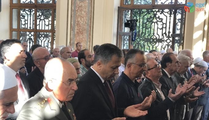 Atatürk'ün ölüm yıl dönümünde Dolmabahçe Camisi'nde Mevlid-i Şerif okutuldu