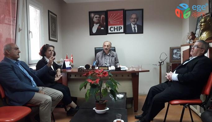 Bornova CHP İlçe Başkanlığı'na Ziyaret