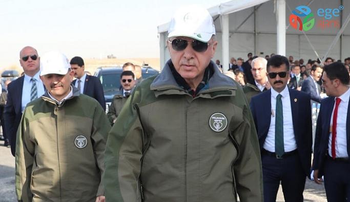 Cumhurbaşkanı Erdoğan 11 milyon fidan dikimi töreninin açılışını yaptı