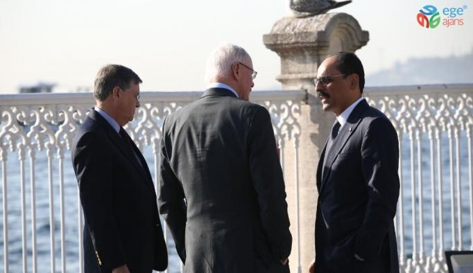 Cumhurbaşkanlığı Sözcüsü Kalın, ABD'nin Suriye Özel Temsilcisi James Jeffrey'i kabul etti