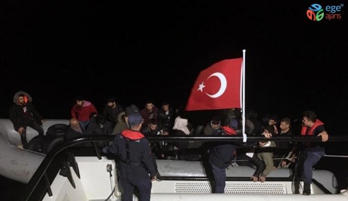 Muğla'da 52 göçmen yakalandı