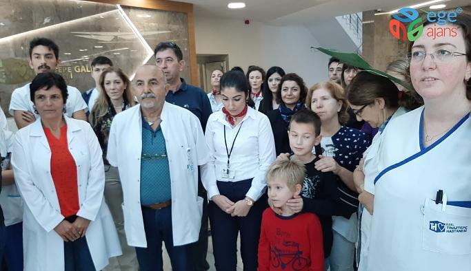Tınaztepe Galen Hastanesi Atatürk'ü andı