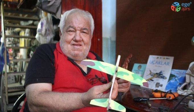72 yaşındaki uçak tutkununun tek dileği Solo Türk'ü görebilmek